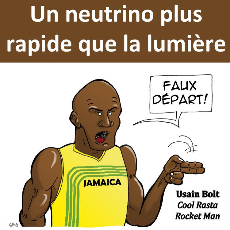 Usain Bolt nous parle du Neutrino