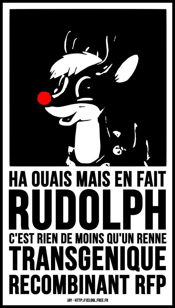 Rudolph, le Renne Trangénique