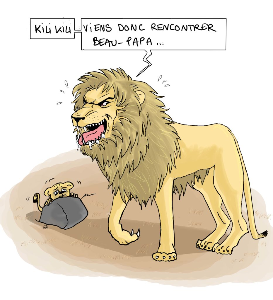 Gentil Papa Lion