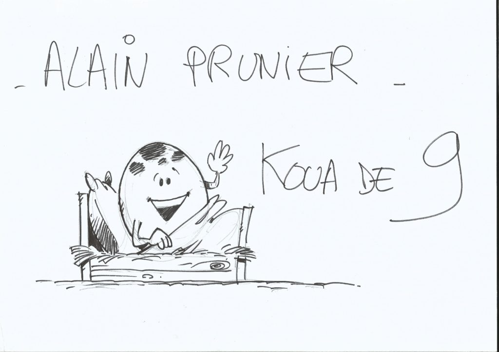 Alain Prunier, Kouade9