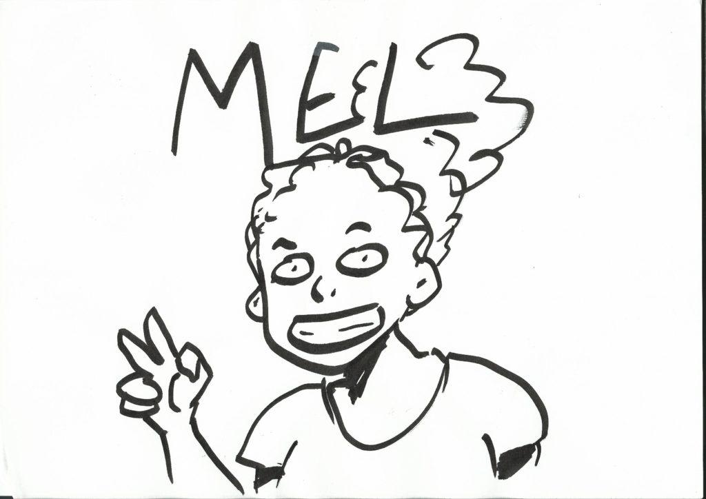 Mel, Noodly Brain