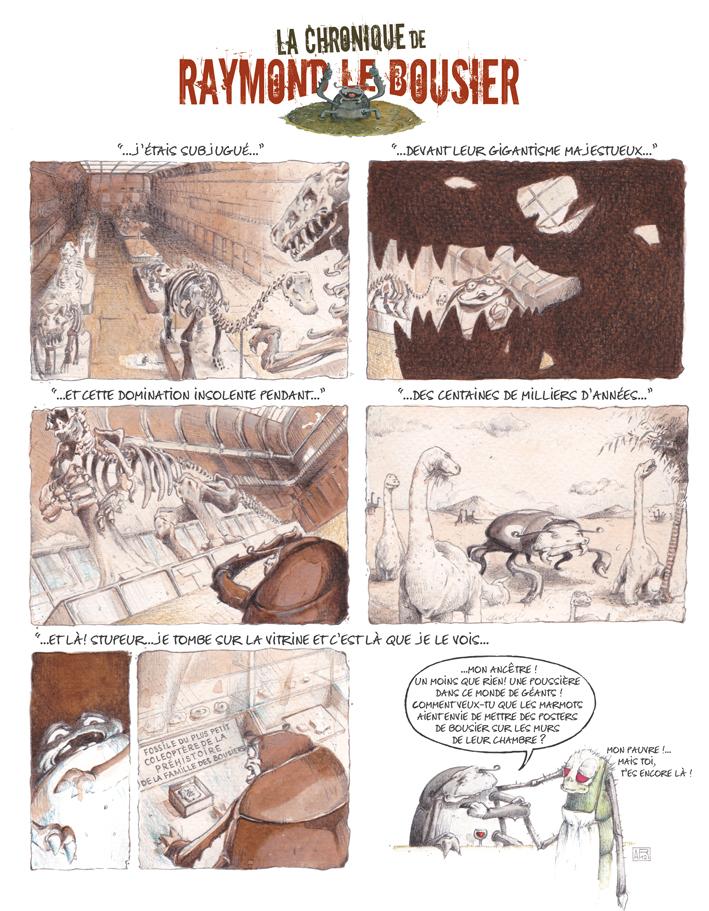 Chronique parue dans Espèces N°3, Mars 2012 – Thèmes abordés: Dinosaures, fossiles et ancêtres